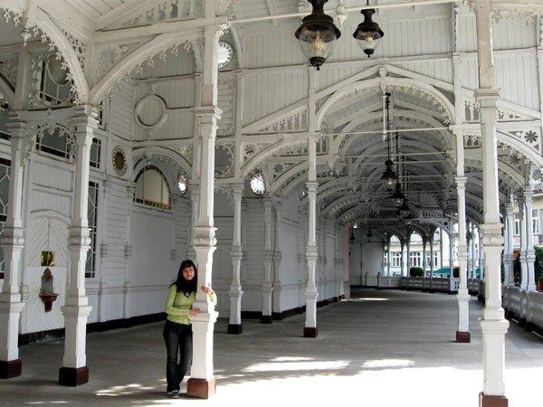 Карловы Вары: достопримечательности Рыночная-колоннада