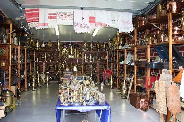 Антикварный магазин на ул. Покровской