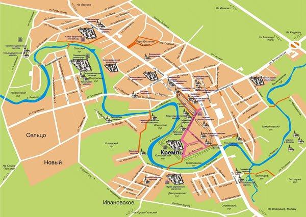 Карта-Суздаль-Источник-suzdal.org