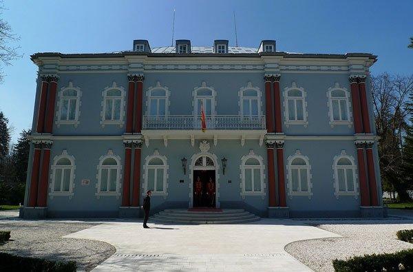 голубой-дворец