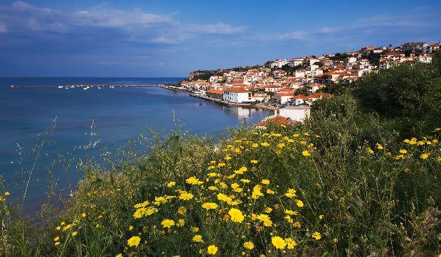 лучшие пляжи пелопоннеса греция